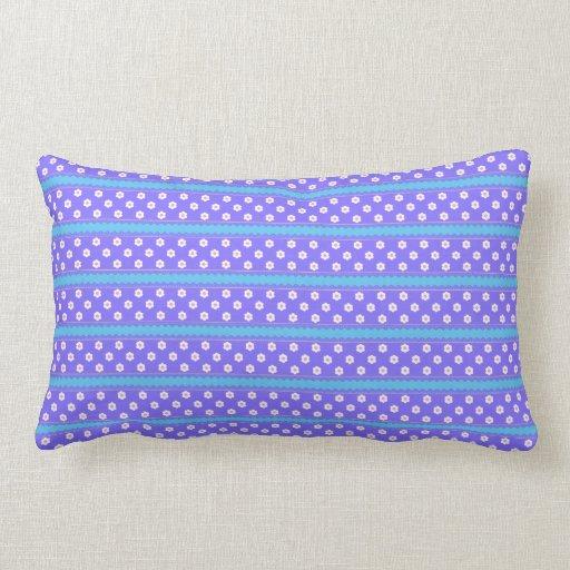 Cute Polka Dot Stripe Pattern Throw Pillow Zazzle