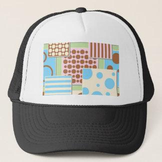 Cute Polka Dots and Stripes Trucker Hat