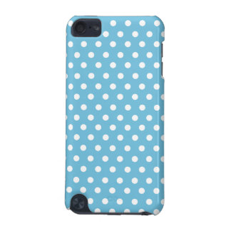Cute Polka Dots | Aqua Blue and White iPod Touch 5G Covers