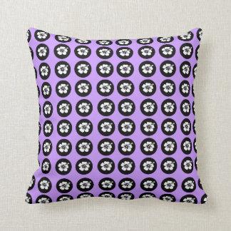 Cute Polka dots hibiscus Pillows