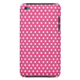 Cute Polka Dots | Hot Pink iPod Case-Mate Case