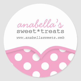 Cute Polka Dots Sticker