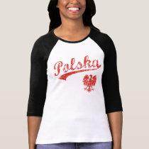Cute Polska Eagle Sport Style T-Shirt