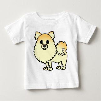 Cute Pomeranian Cartoon Baby T-Shirt