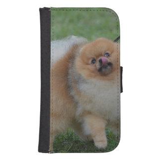 Cute Pomeranian Phone Wallet