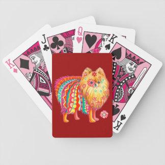 Cute Pomeranian Playing Cards