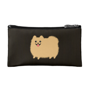 Pomeranian Dog Cosmetic Toiletry Bags Zazzle