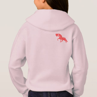 Cute pony love childrens hoodie