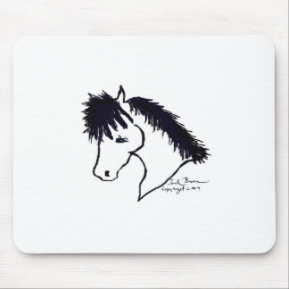 Cute Pony Mouse Pad