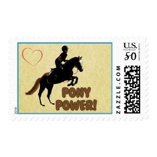 Cute Pony Power Equestrian Postage