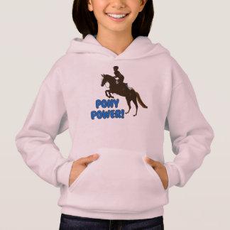 Cute Pony Power Hoodie