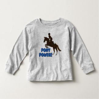 Cute Pony Power Toddler T-shirt