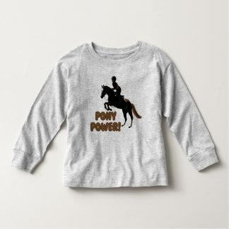 Cute Pony Power Toddler T-shirt