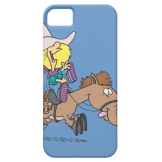 cute pony ride cartoon iPhone SE/5/5s case