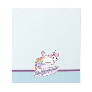 Cute Poo Unicorn Notepad