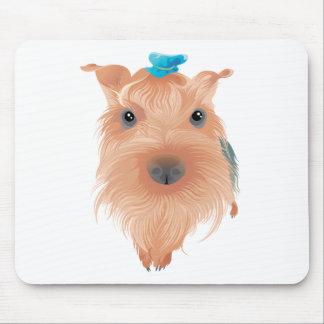 Cute Poodle Mouse Pad