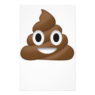 Cute Poop Emoji Stationery