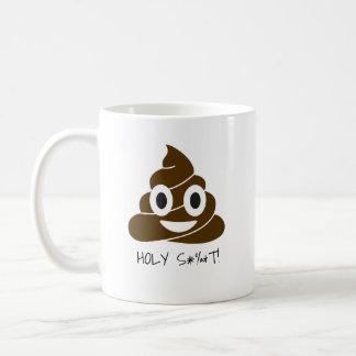 CUTE POOP EMOTICON CUP