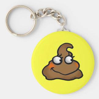 Cute poop keychain