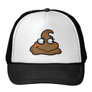 Cute poop mesh hats