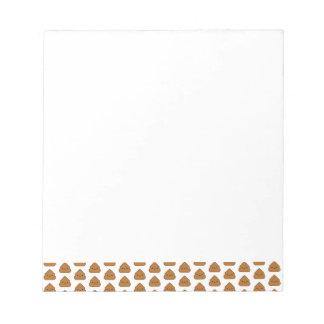 Cute Poop Pattern Notepad