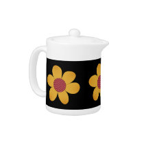 Cute Pop Flower Teapot