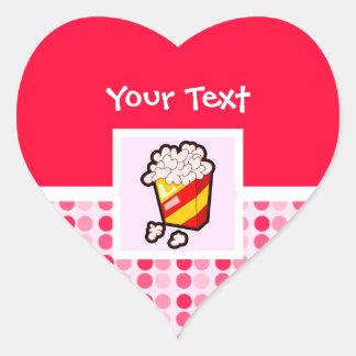 Cute Popcorn Stickers