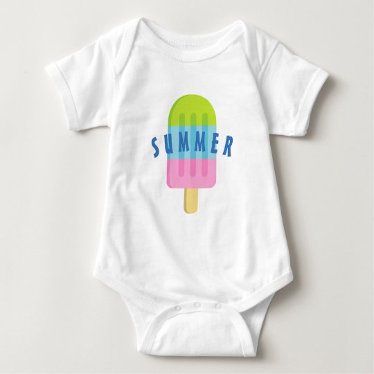 Custom Baby /& Toddler T-Shirt Pink Blue Purple Popsicle Cotton Boy Girl Clothes
