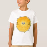 Cute Porcupine Fish. T-Shirt