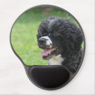 Cute Portuguese Water Dog Gel Mouse Pads