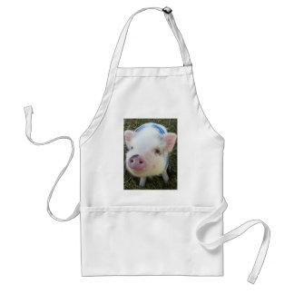 Cute Pot Belly Pig Adult Apron