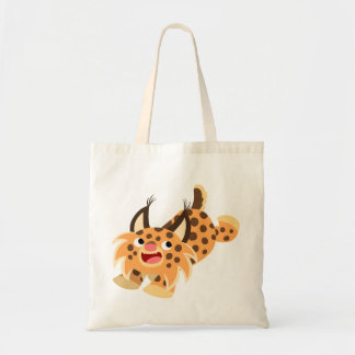 Cute Prankish Cartoon Bobcat Bag