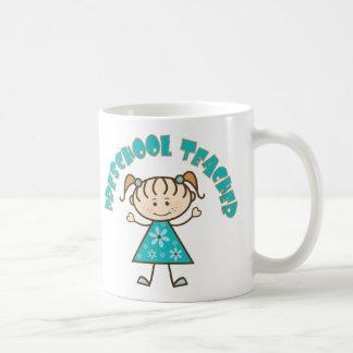 Cute Preschool Teacher Classic White Coffee Mug