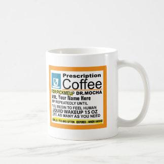Cute Prescription Coffee Mug