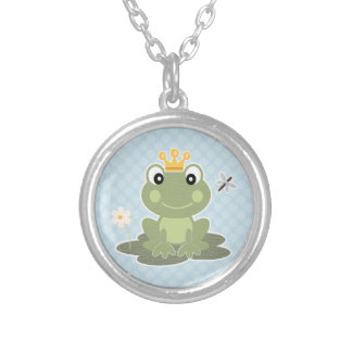 Cute Prince Frog Necklace