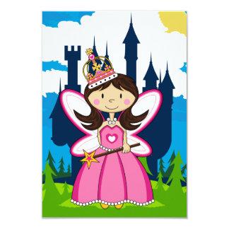 Cute Princess and Castle RSVP Card