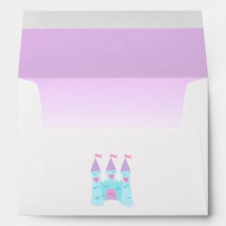Cute Princess Birthday Envelope