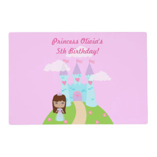 Cute Princess Birthday Placemat
