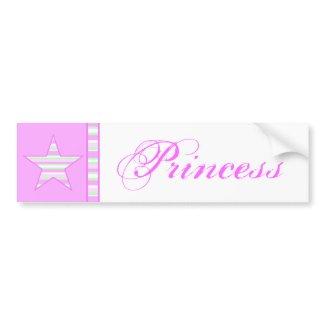 Cute Princess Bumper Sticker bumpersticker