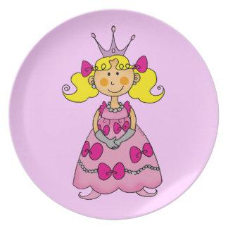 cute princess dinner plate