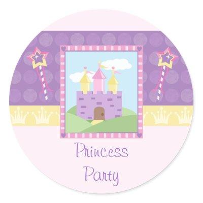Cute princess party castle