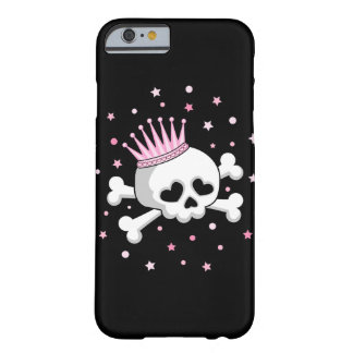 Cute Princess Skull Barely There iPhone 6 Case