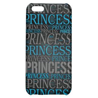 Cute Princess Wordart Case For iPhone 5C
