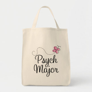 Cute Psych Major Gift Tote Bag