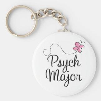 Cute Psych Major Gift Basic Round Button Keychain