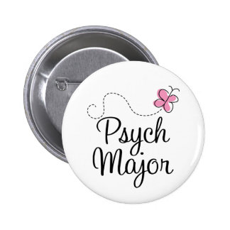 Cute Psych Major Gift 2 Inch Round Button