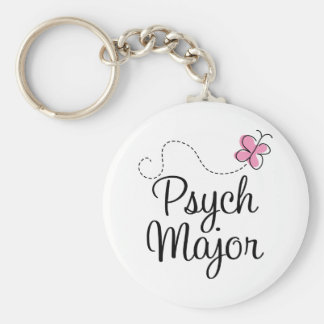 Cute Psych Major Gift Key Chains