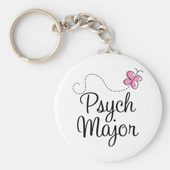 Cute Psych Major Gift Keychain