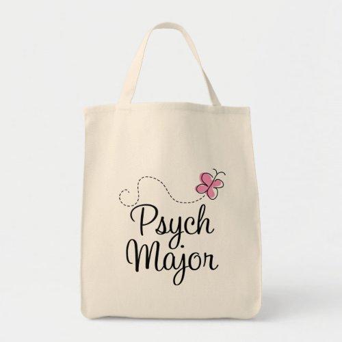Cute Psych Major Gift Tote Bag