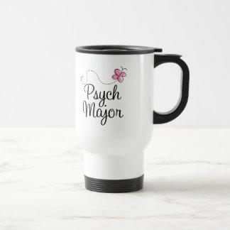 Cute Psych Major Gift Travel Mug